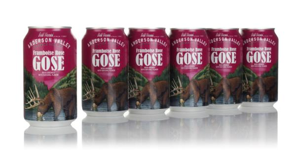 Anderson Valley Framboise Rose Gose (6 x 355ml) Gose Beer