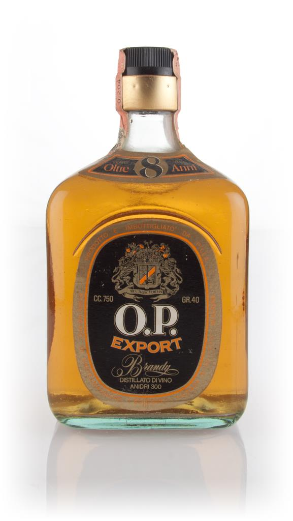 O.P. Export 8 Year Old - 1970s Brandy