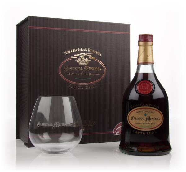 Cardenal Mendoza Carta Real With Riedel Snifter Brandy