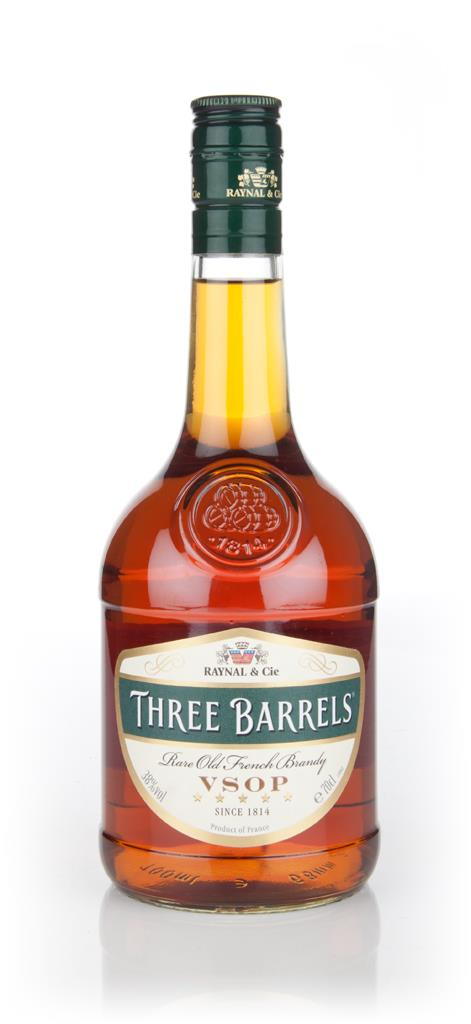 Three Barrels VSOP (38%) Brandy