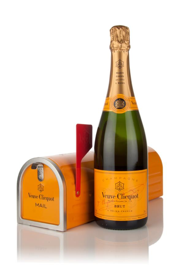 Veuve Clicquot Brut Yellow Label - Mailbox Gift Pack Non Vintage Champagne