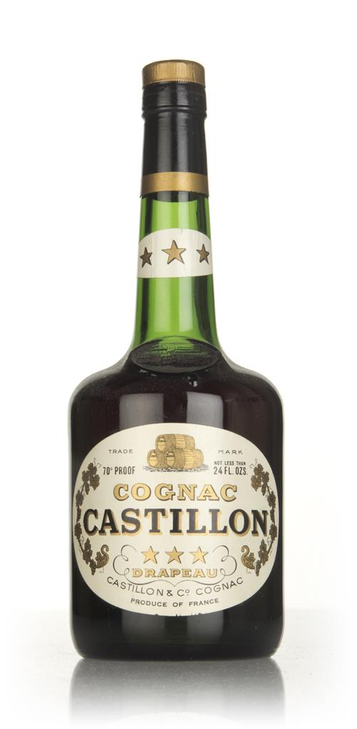 Castillon 3 Star Cognac - 1960s VS Cognac