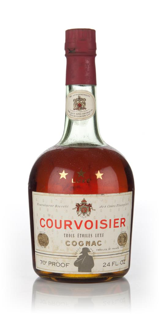 Courvoisier Three Star - 1960s VS Cognac