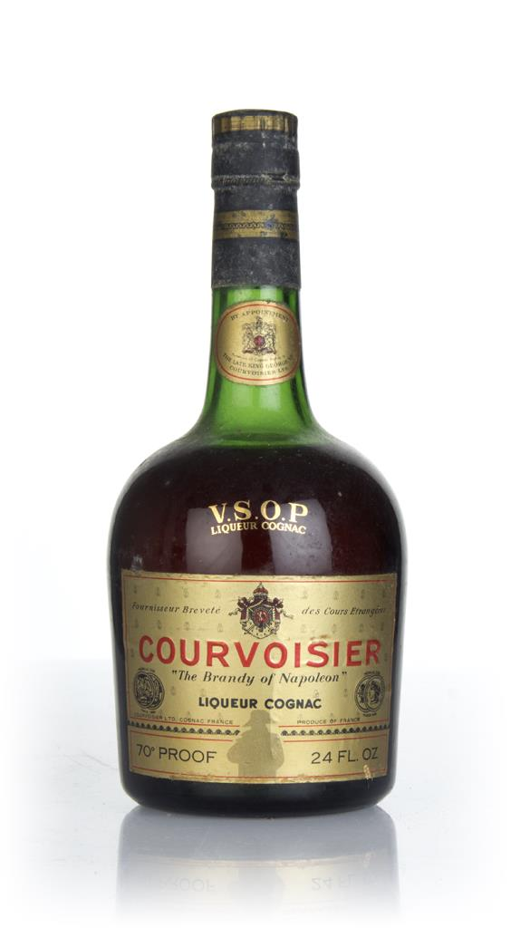 Courvoisier VSOP (Clear Bottle) - 1970s VSOP Cognac