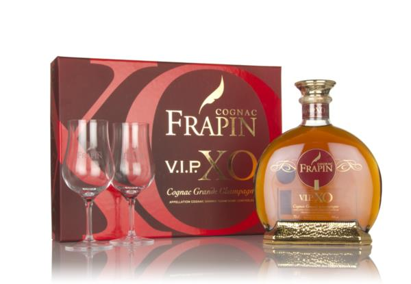 Frapin V.I.P. XO Gift Pack with 2x Glasses XO Cognac