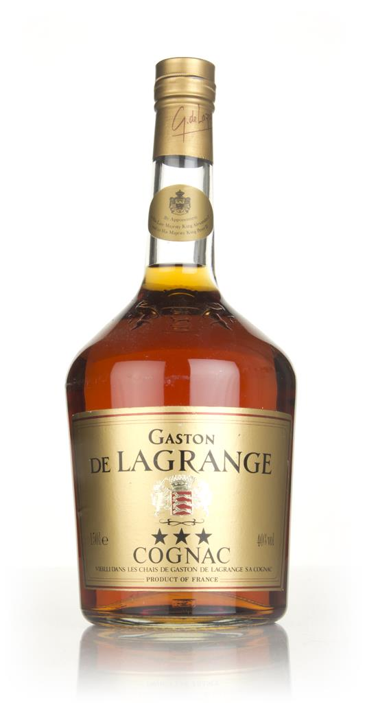 Gaston de Lagrange 3 Star (1.5L) - 1980s VS Cognac
