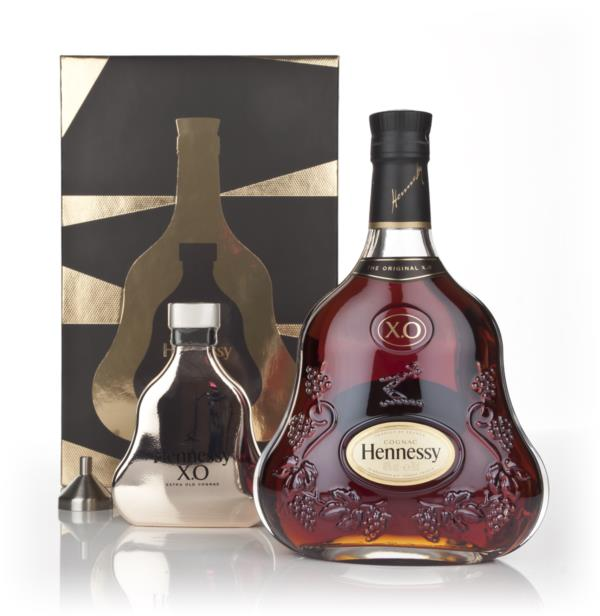 Hennessy XO with Hip Flask and Funnel XO Cognac