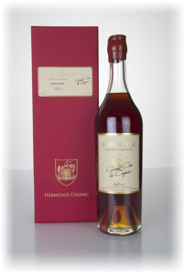Hermitage 60 Year Old Grande Champagne Cognac (40.5%) Hors d'age Cognac