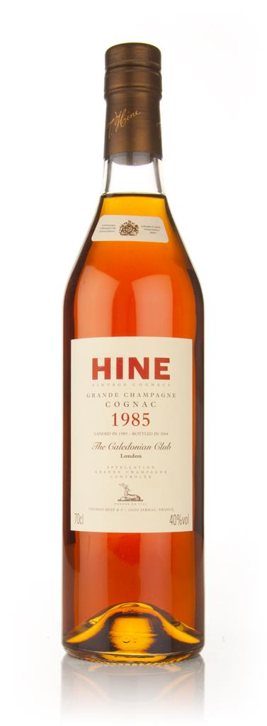 Hine 1985 Grande Champagne - The Caledonian Club Hors d'age Cognac