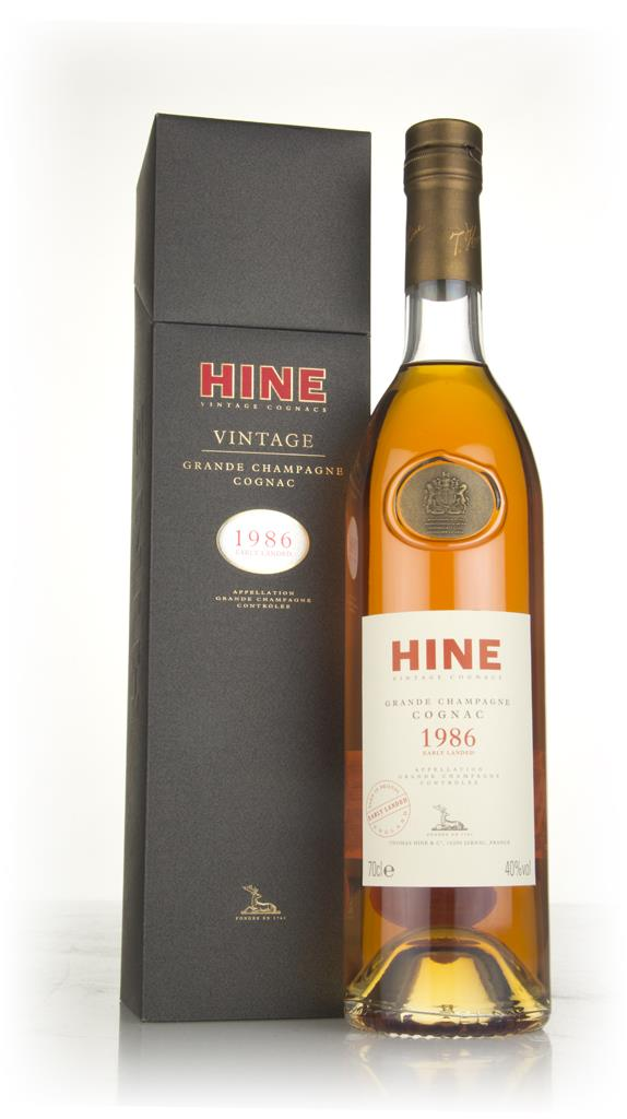 Hine 1986 Early Landed - Grande Champagne Hors d'age Cognac