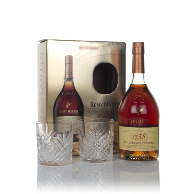 Remy Martin 1738 Accord Royal Gift Pack with x2 Glasses Cognac