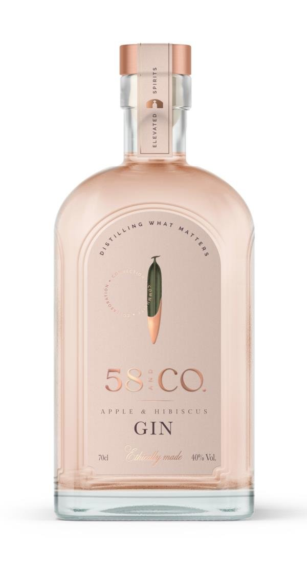 58 Gin Apple & Hibiscus Flavoured Gin
