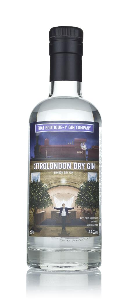 CitroLondon Dry Gin - Fifty Eight Gin Distillery (That Boutique-y London Dry Gin 3cl Sample