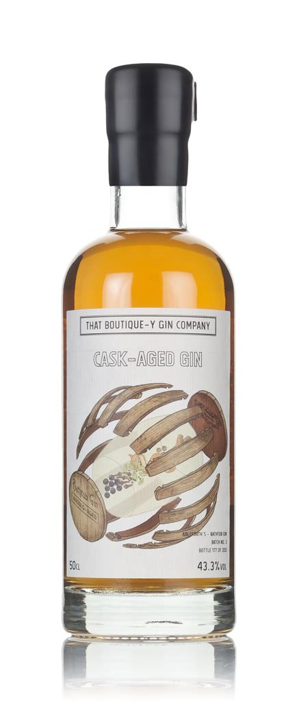 Single Cask Bathtub Gin - Ardbeg Cask (That Boutique-y Gin Company) 3c Cask Aged Gin 3cl Sample