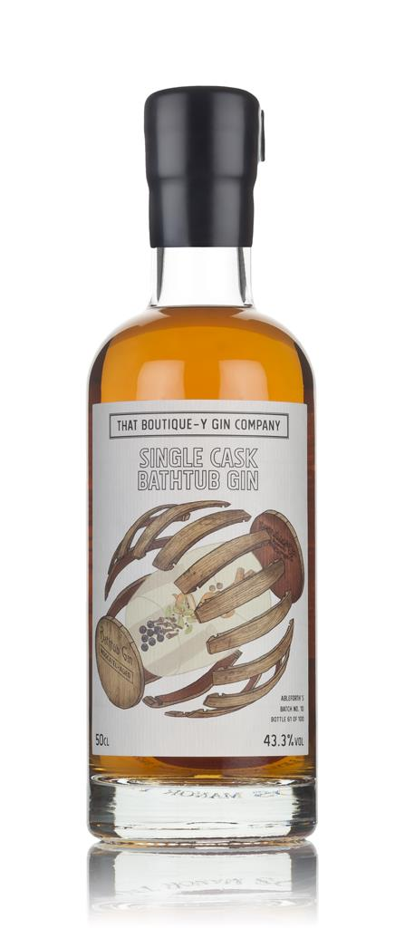 Single Cask Bathtub Gin - Moscatel Cask (That Boutique-y Gin Company) Cask Aged Gin 3cl Sample