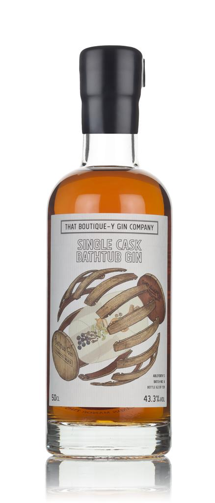 Single Cask Bathtub Gin - Oloroso Cask (That Boutique-y Gin Company) 3 Cask Aged Gin 3cl Sample