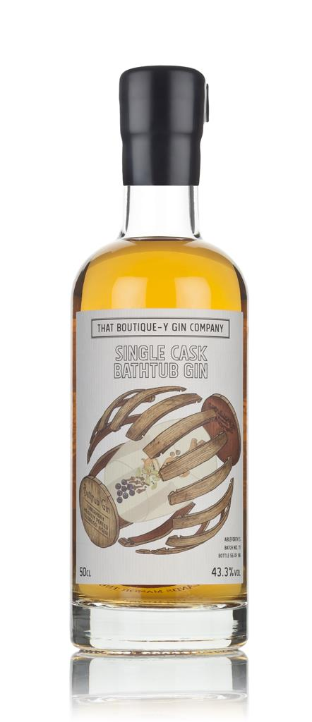 Single Cask Bathtub Gin - Tobermory Heavily Peated Oloroso Cask (That Cask Aged Gin 3cl Sample