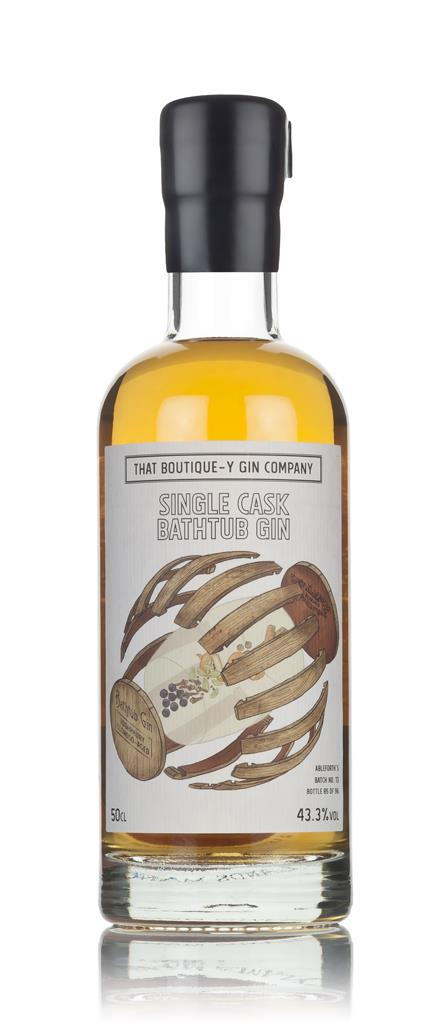 Single Cask Bathtub Gin - Tobermory Oloroso Cask (That Boutique-y Cask Aged Gin 3cl Sample