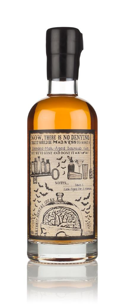 Blended-Malt-Aged Bathtub Gin (Batshit Mental Ideas) 3cl Sample Cask Aged Gin