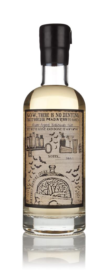 Rum Aged Bathtub Gin (10 Months) (Batshit Mental Ideas) 3cl Sample Cask Aged Gin
