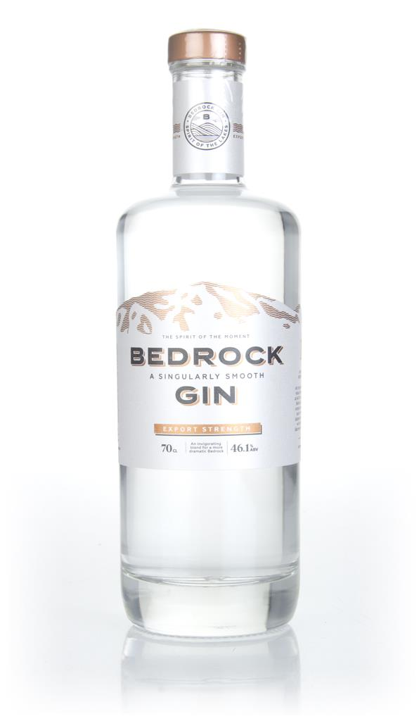 Bedrock Gin Export Strength London Dry Gin