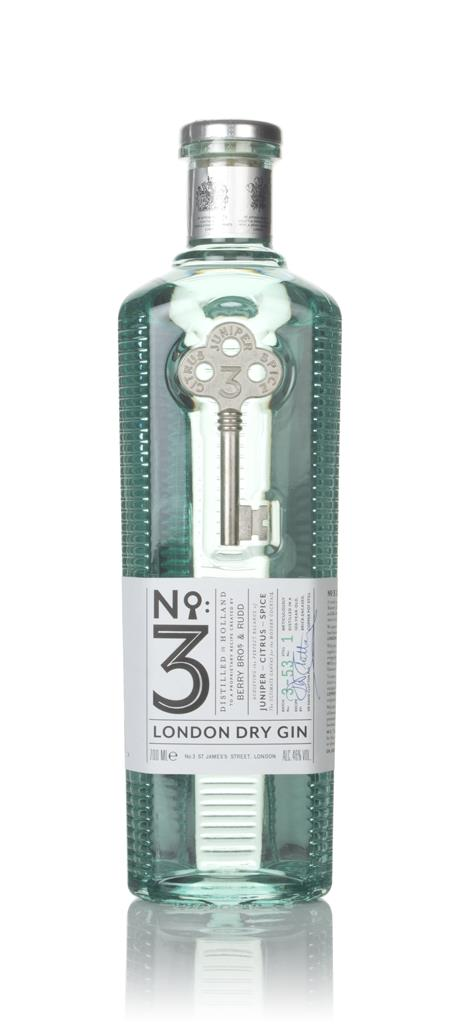 No.3 Gin 3cl Sample London Dry Gin