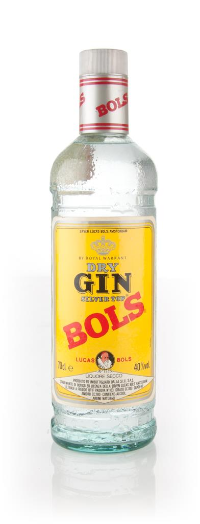 Bols Silver Top Dry Gin - 1980s Gin