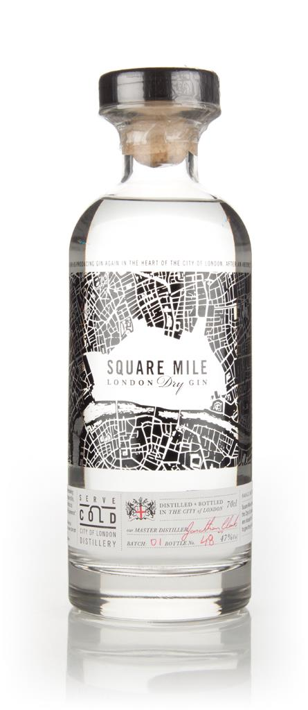 Square Mile London Dry Gin 47% 3cl Sample London Dry Gin