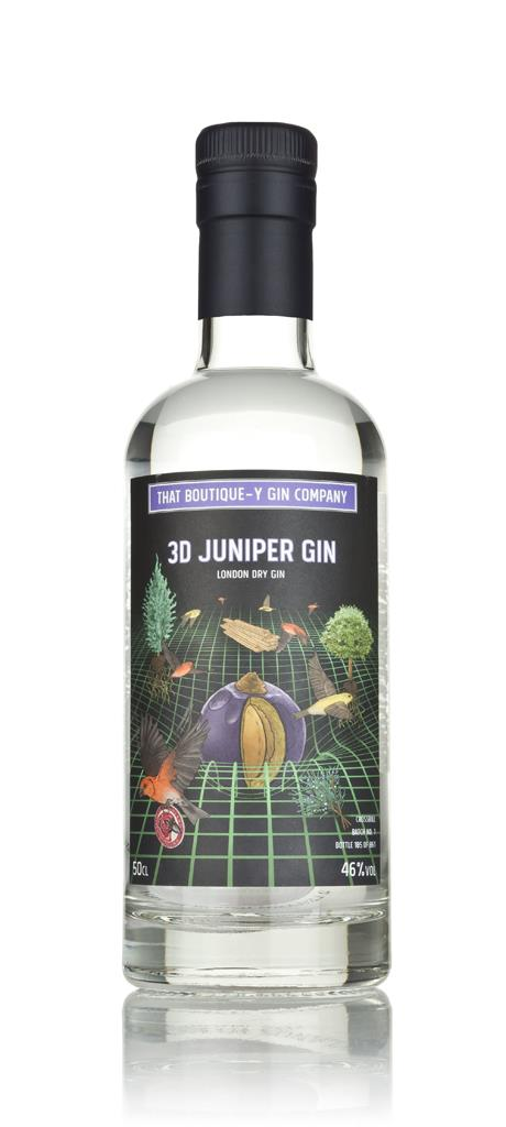 3D Juniper Gin - Crossbill (That Boutique-y Gin Company) 3cl Sample London Dry Gin