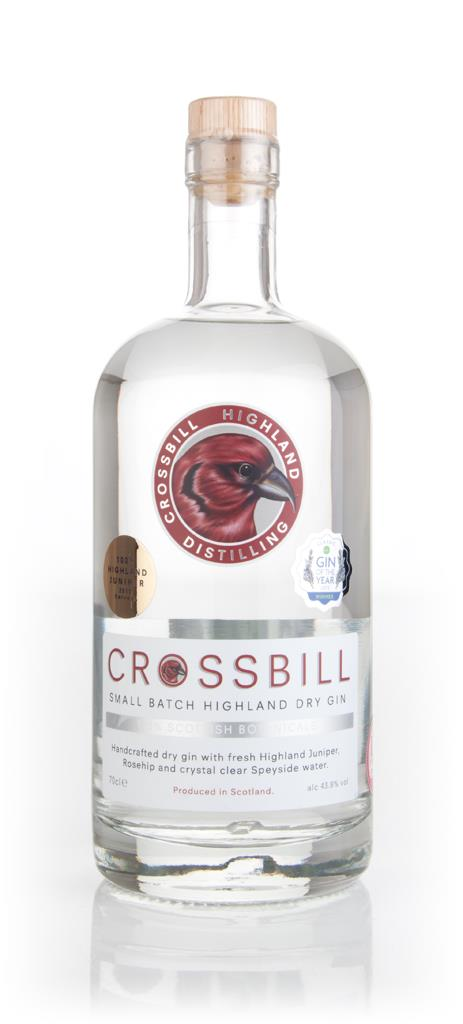 Crossbill Small Batch Highland Dry Gin 3cl Sample Gin