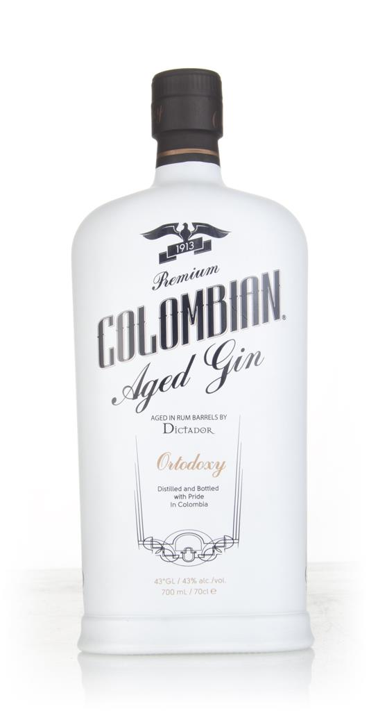 Dictador Premium Colombian Aged Gin - Ortodoxy 3cl Sample Cask Aged Gin