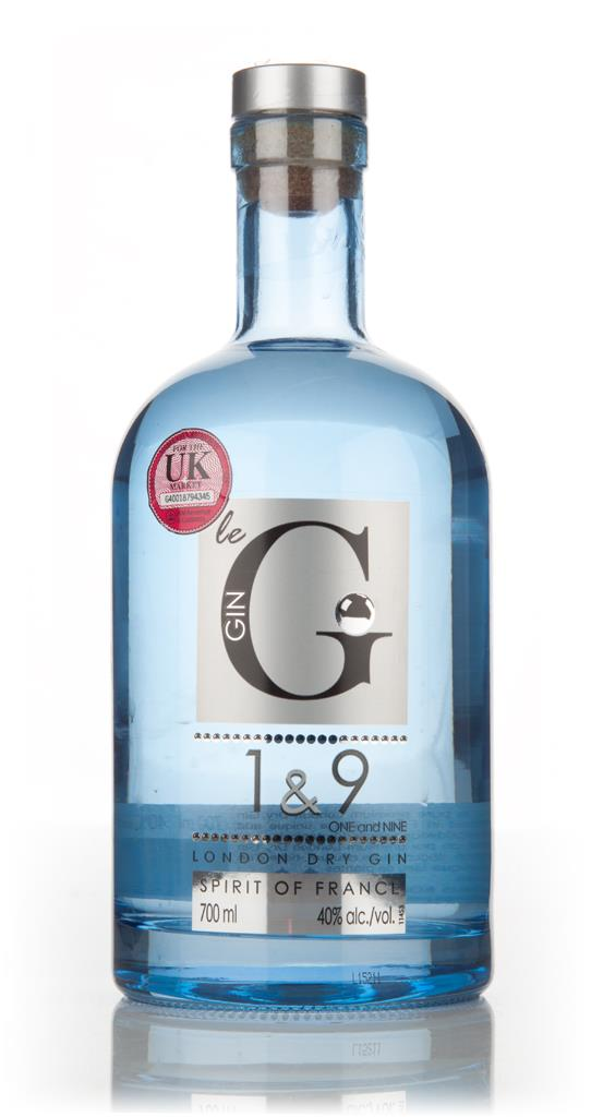 Le Gin 1 & 9 London Dry Gin