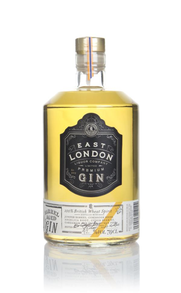 East London Liquor Company Barrel Aged Gin - Ex-Ginger Beer & Cider Ca Cask Aged Gin
