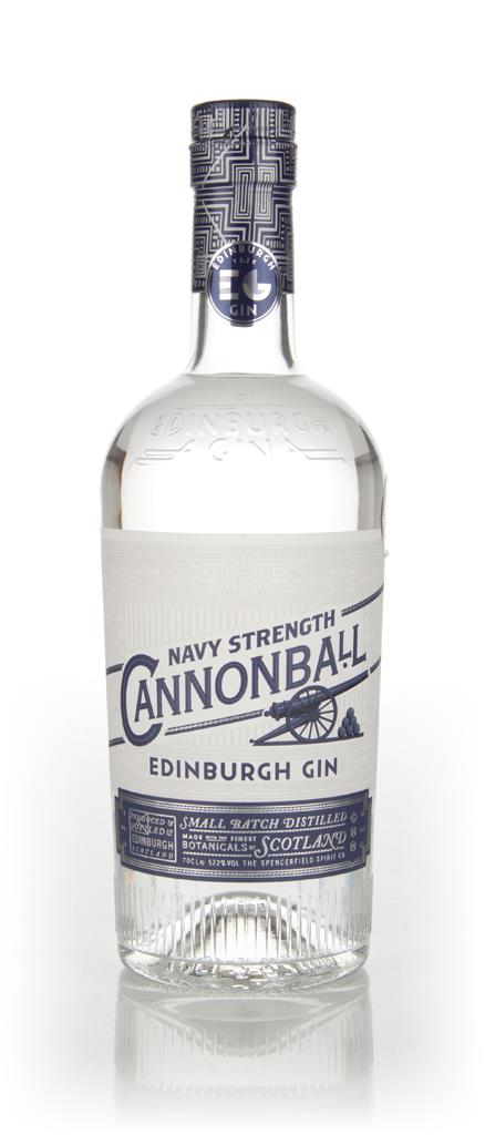 Edinburgh Gin Cannonball Navy Strength Gin