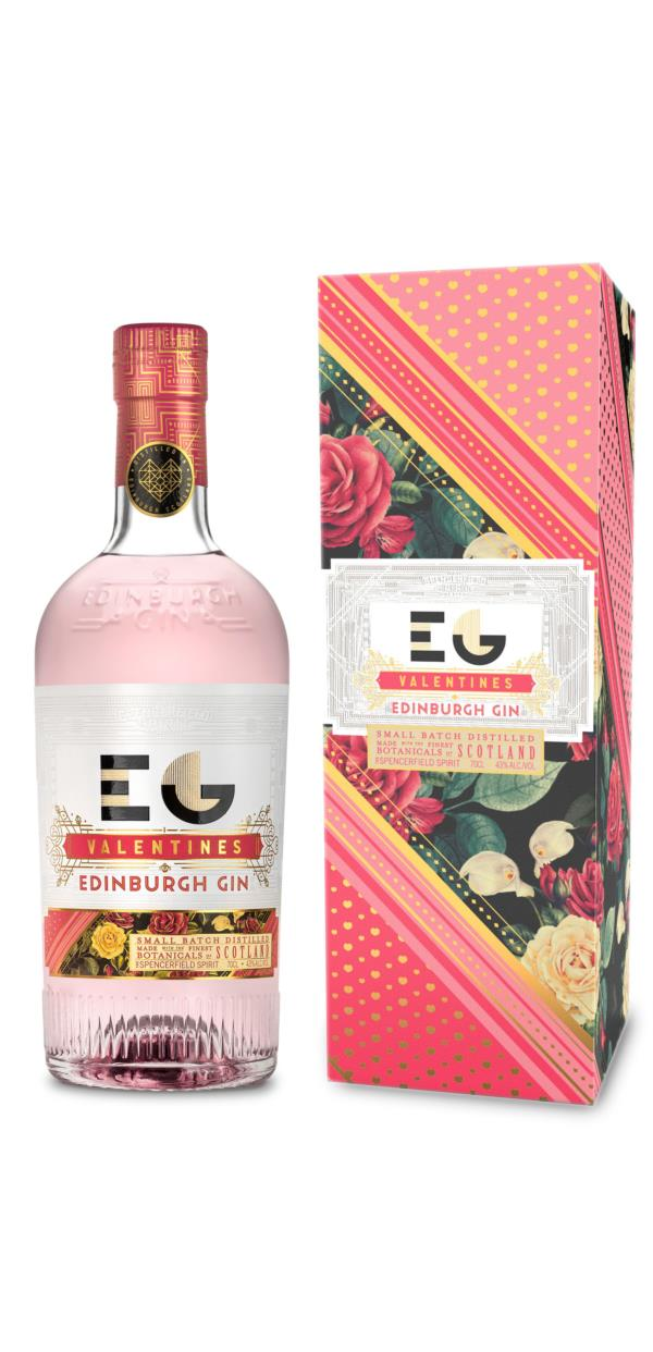 Edinburgh Valentines Gin 3cl Sample Gin