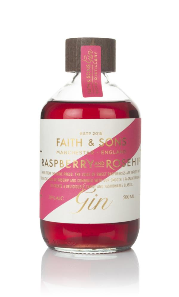 Faith & Sons Raspberry and Rosehip Gin 3cl Sample Flavoured Gin