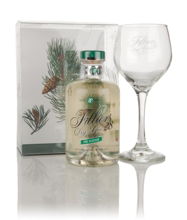 Filliers Dry Gin 28 Pine Blossom and Glass Set Gin