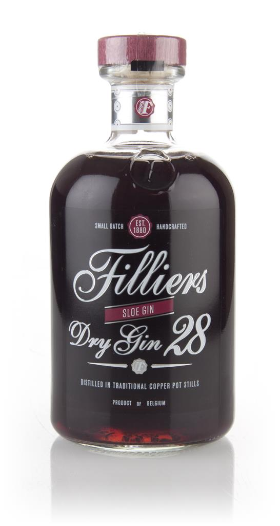 Filliers Dry Gin 28 - Sloe Gin 3cl Sample Sloe Gin