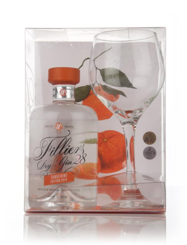 Filliers Dry Gin 28 Tangerine and Glass Set Gin