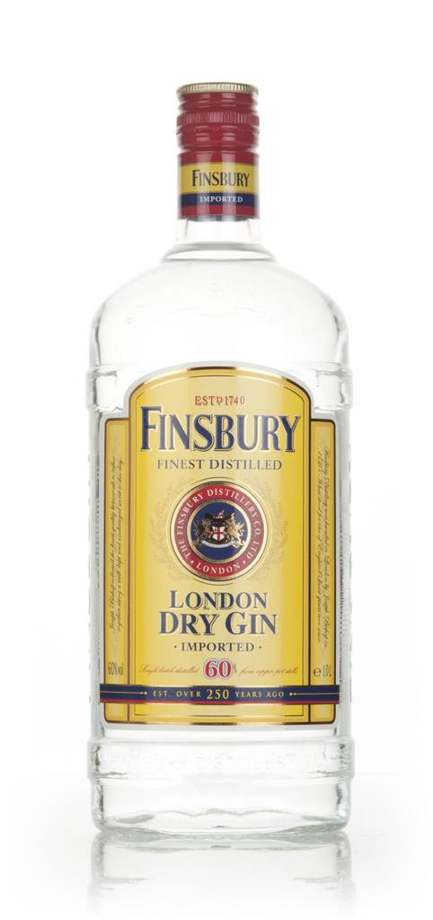 Finsbury Gin Export Strength 1l London Dry Gin