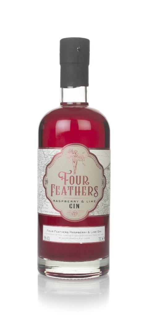 Four Feathers Raspberry & Lime Flavoured Gin