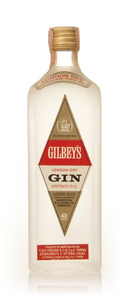 Gilbeys London Dry Gin - 1970s London Dry Gin