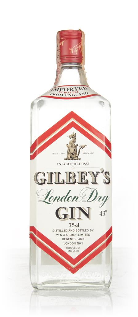 Gilbeys London Dry Gin (43%) - 1970s London Dry Gin