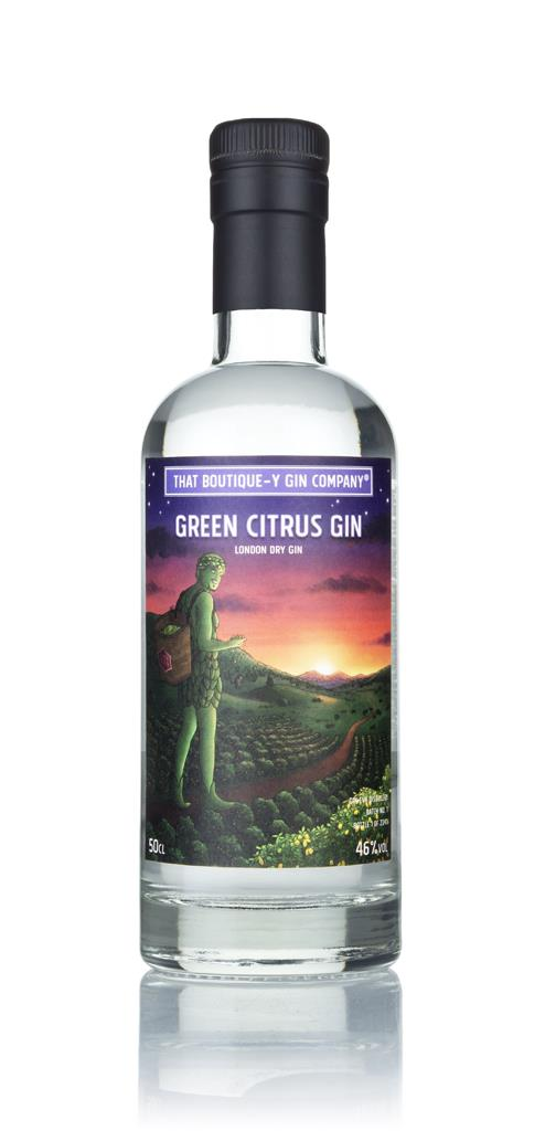 Green Citrus Gin - Gin Eva (That Boutique-y Gin Company) 3cl Sample London Dry Gin