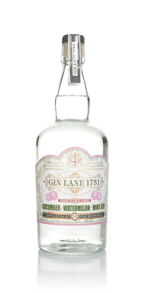 Gin Lane 1751 Cucumber, Watermelon & Mint Flavoured Gin