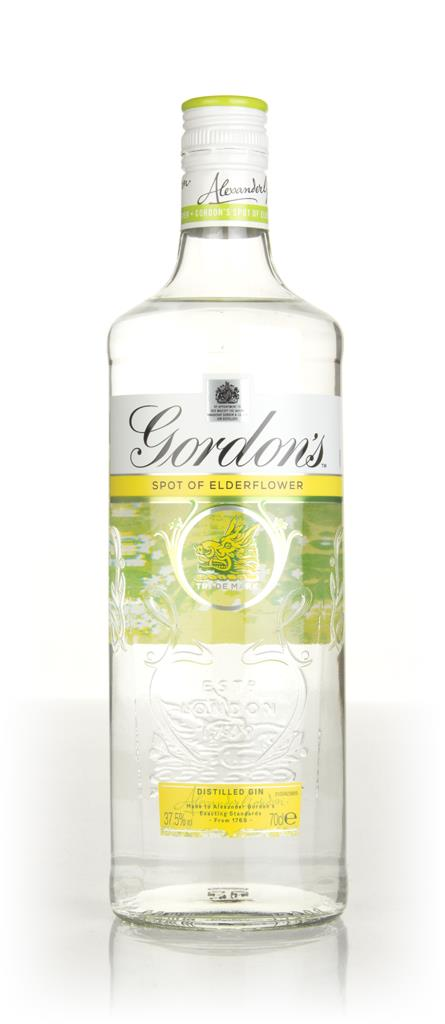 Gordons Elderflower Gin 3cl Sample Flavoured Gin