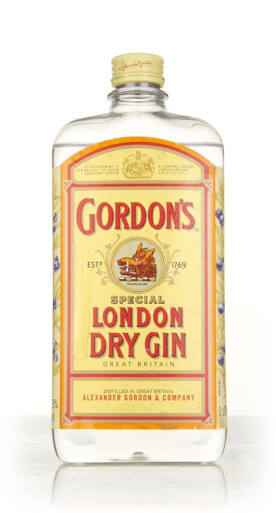 Gordons London Dry Gin - 1990s London Dry Gin