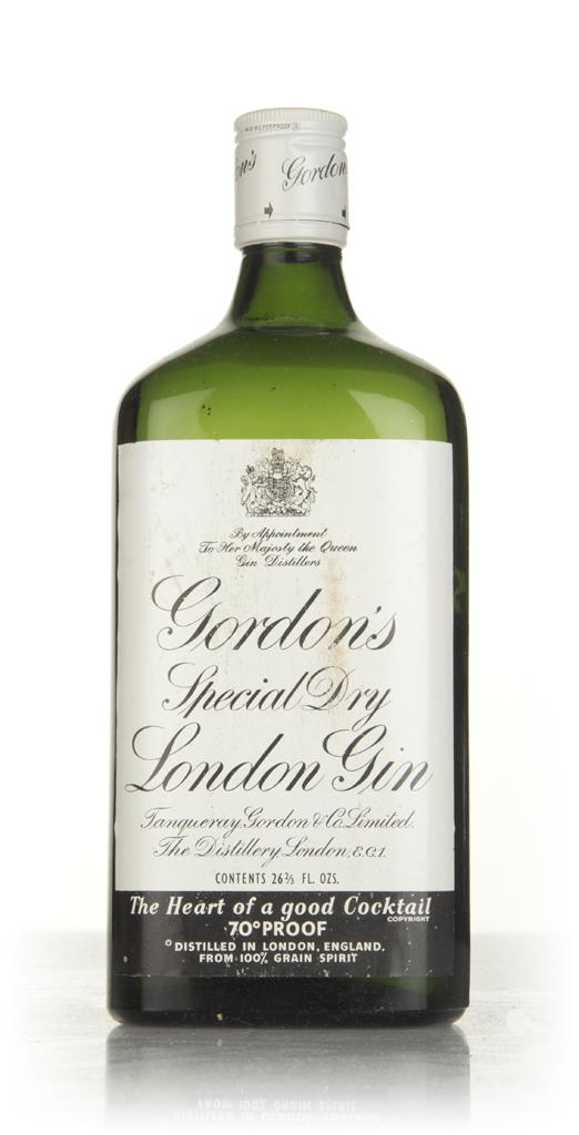 Gordons Special Dry London Gin - 1970s 3cl Sample London Dry Gin