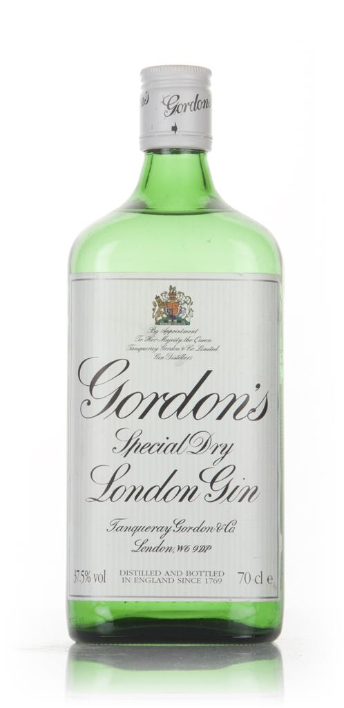 Gordons Special Dry London Gin - 1990s London Dry Gin