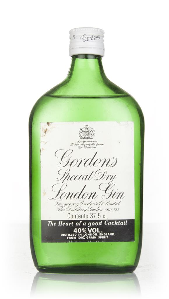 Gordons Special Dry London Gin 37.5cl - 1970s London Dry Gin